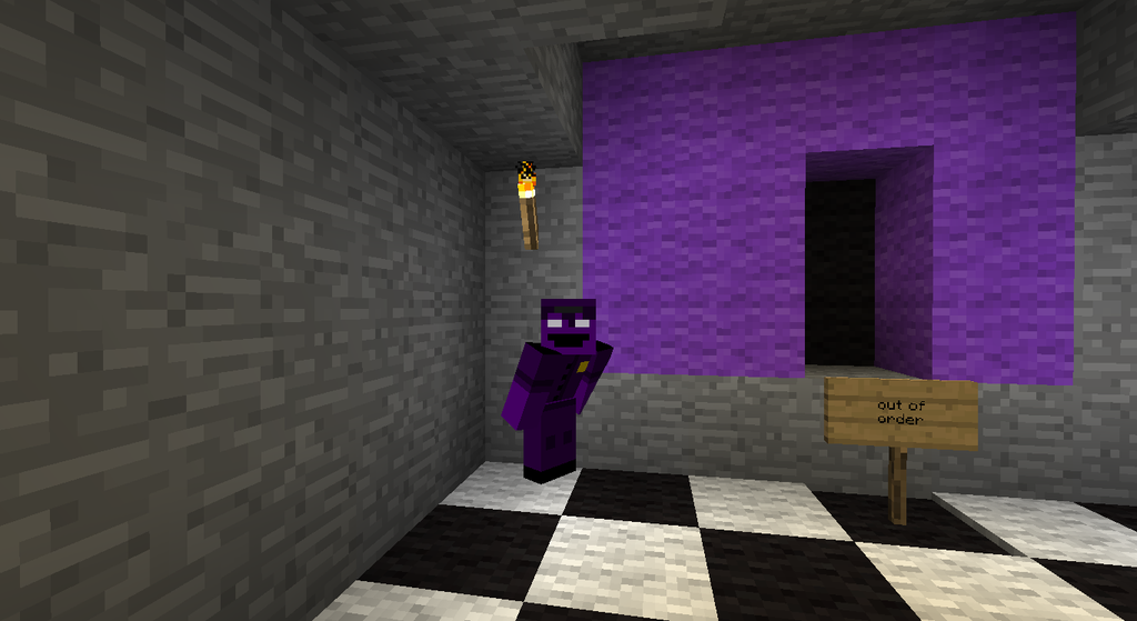 Minecraft purple man by skywardwarriorcg on deviantart
