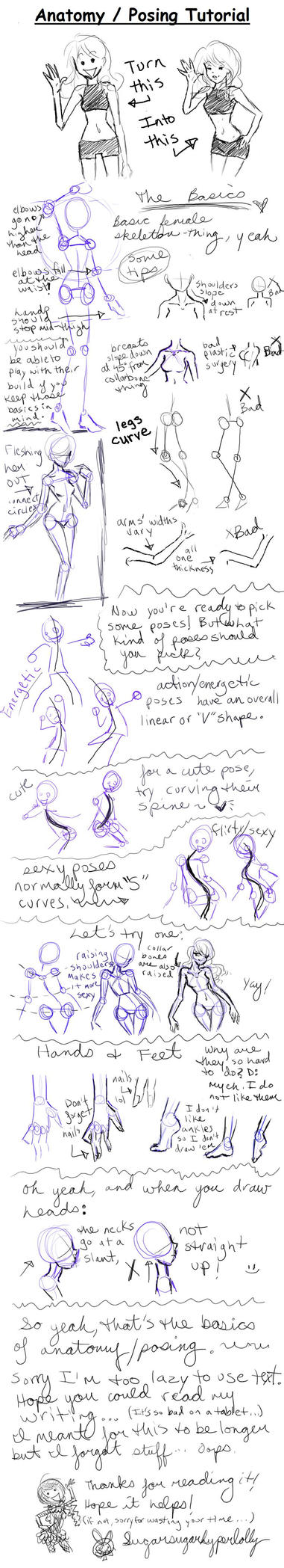 Posing Tutorial by SugarSugarHyperLolly