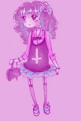 Pastel Goth by SugarSugarHyperLolly