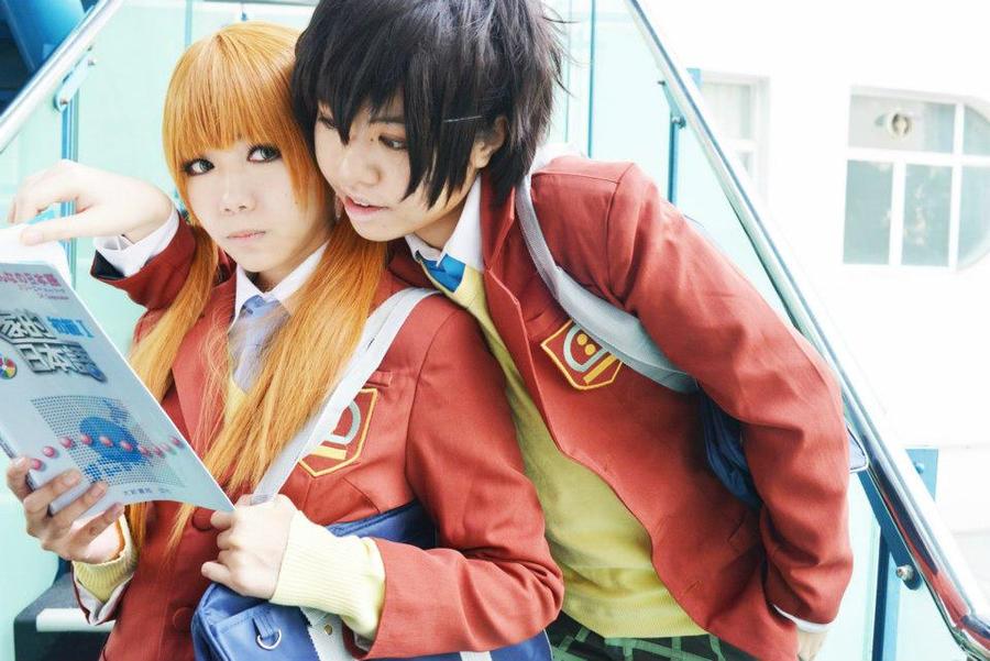 دختران انیمه ای - عکس واقعی انیمهTonari no Kaibutsu-kun