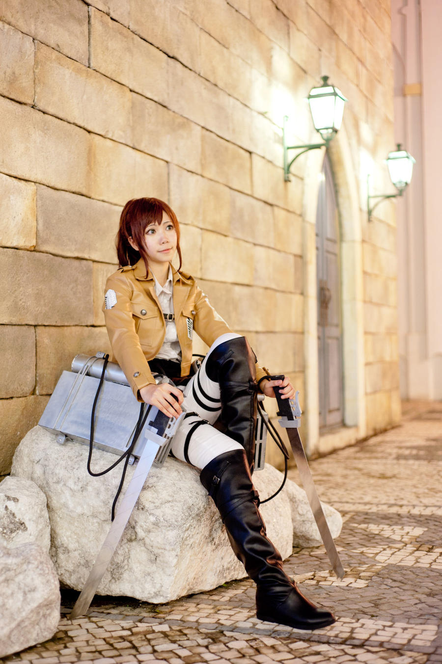 Shingeki no Kyojin - Sacha Blouse by JJeris