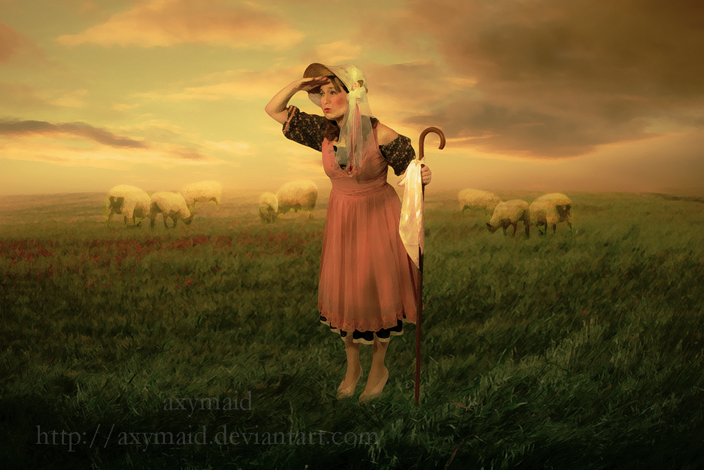 Shepherdess by axymaid