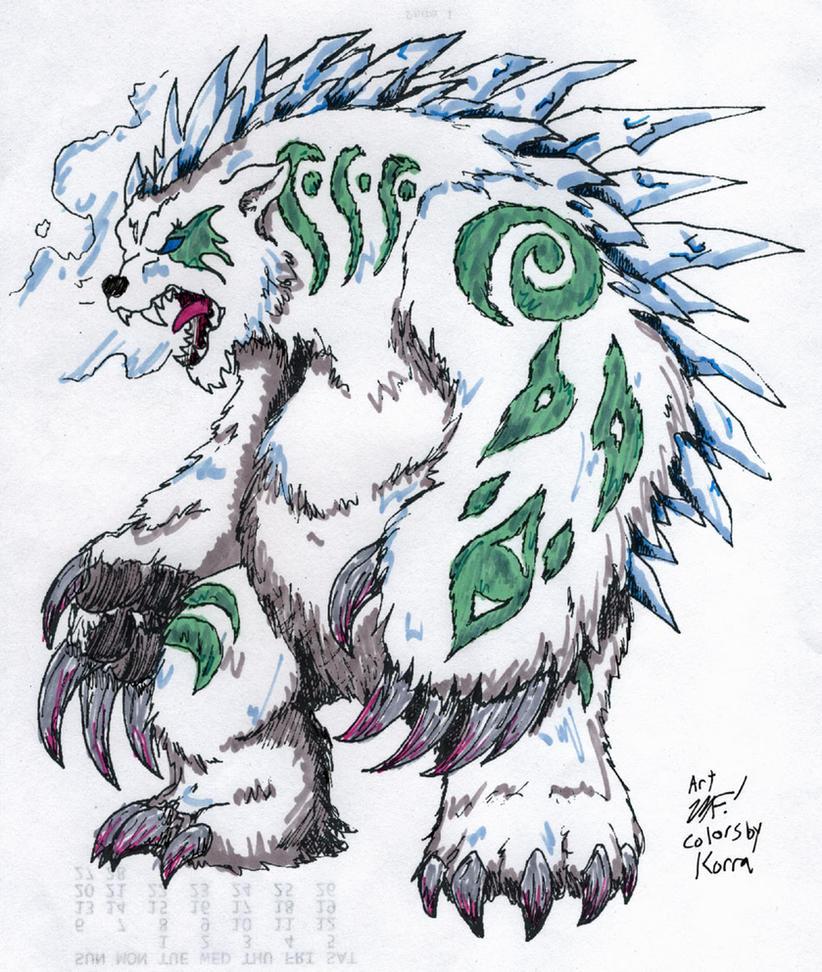 Tornaq for Kaiju Combat by MrKorra