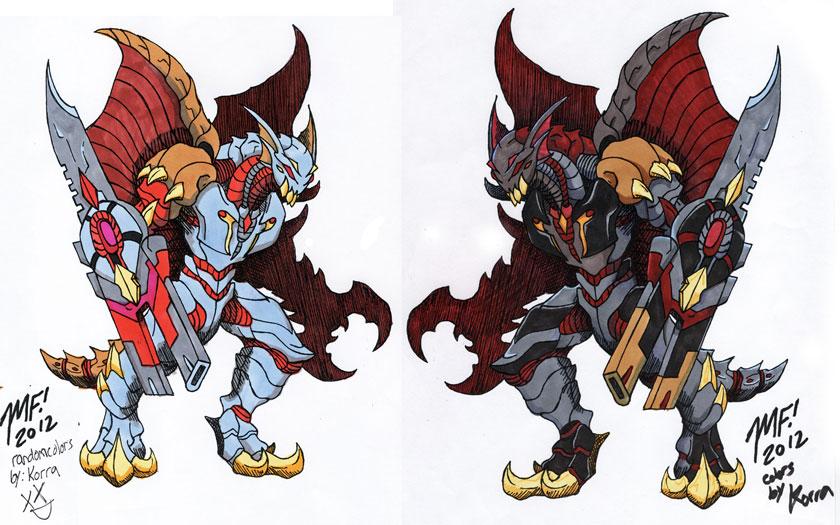 Heart eater colors (Kaiju Combat) by MrKorra