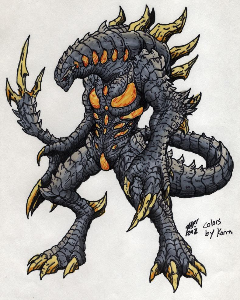 Nemesis for Kaiju combat! by MrKorra