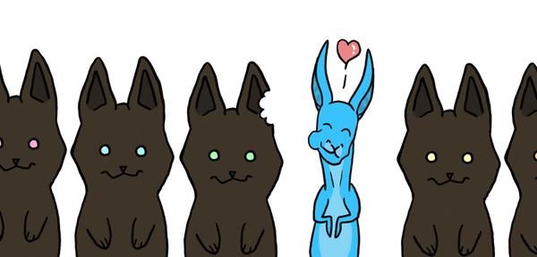 bunnies by Maxrunn