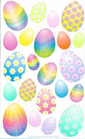 Easter Egg Stickers 2