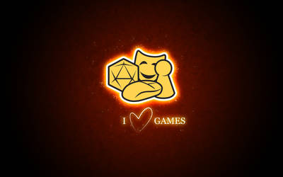 Sverok I Love Games Red