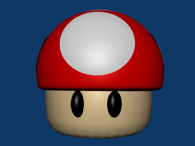 Mario Mushroom by SiverCat