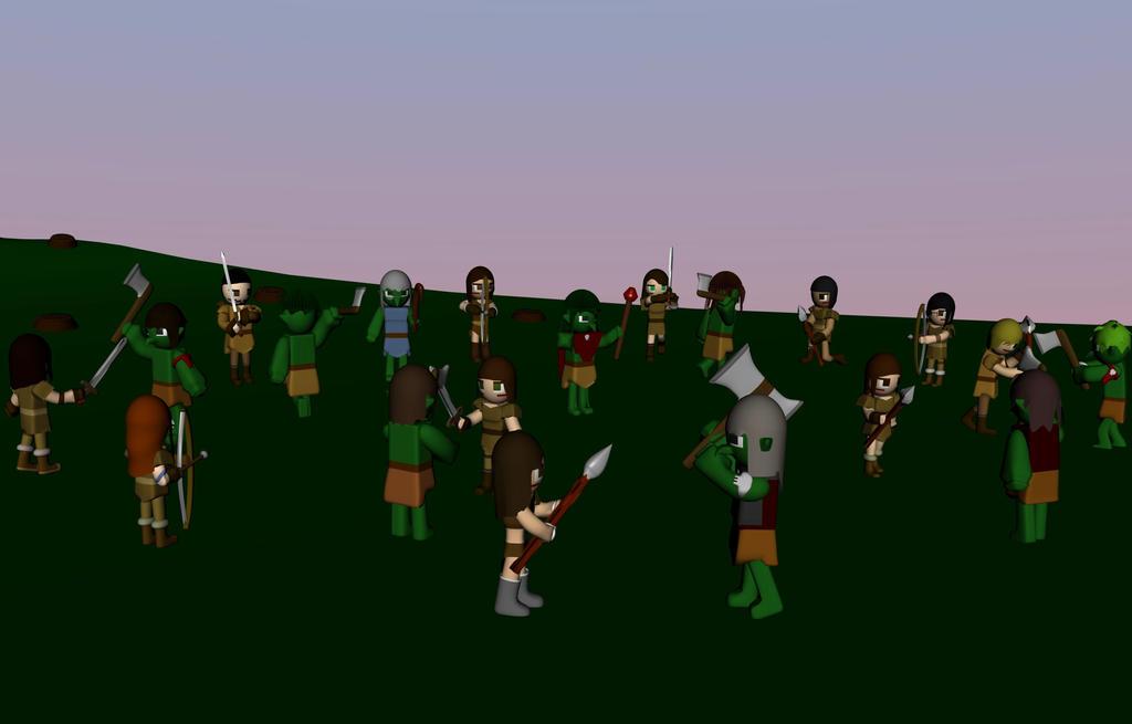 The Troll Hunters by SiverCat