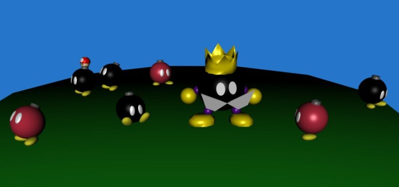 King Bob-Omb's Court by SiverCat