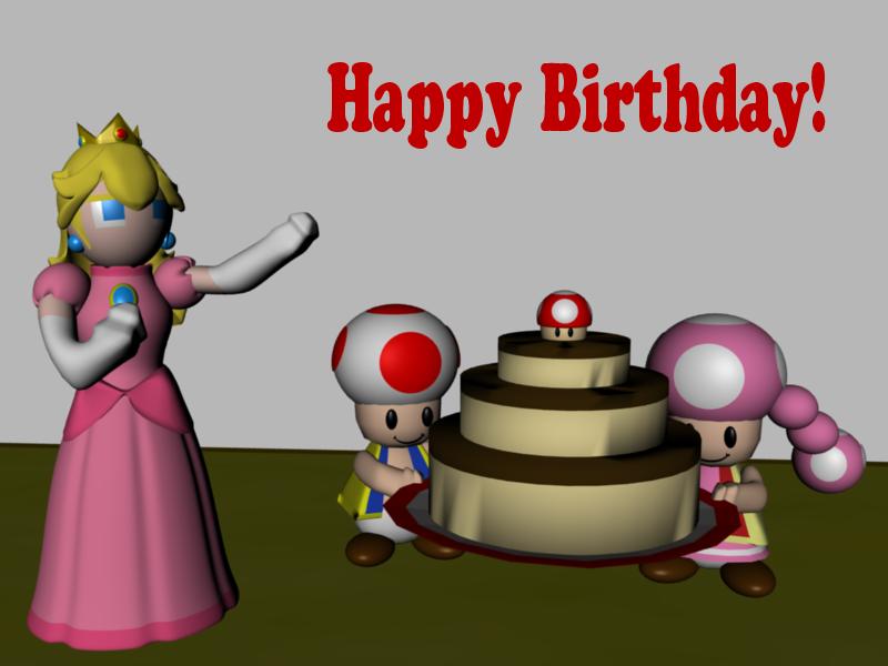 Happy Birthday Tanashai by SiverCat