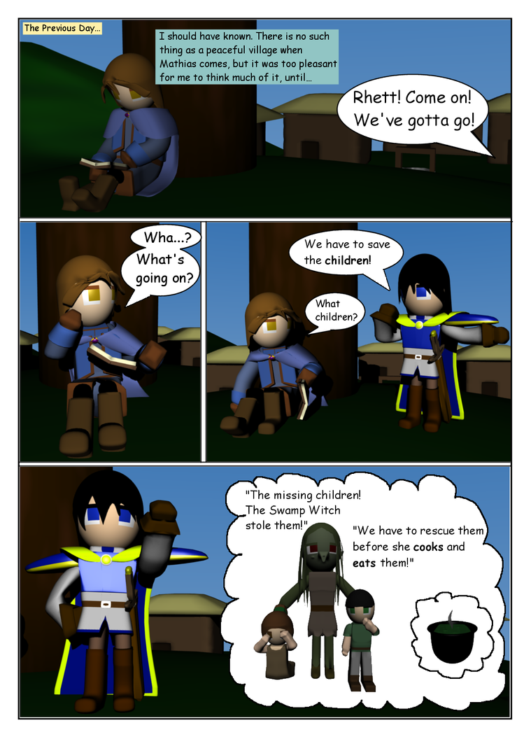 The Swamp Witch Page 2 by SiverCat