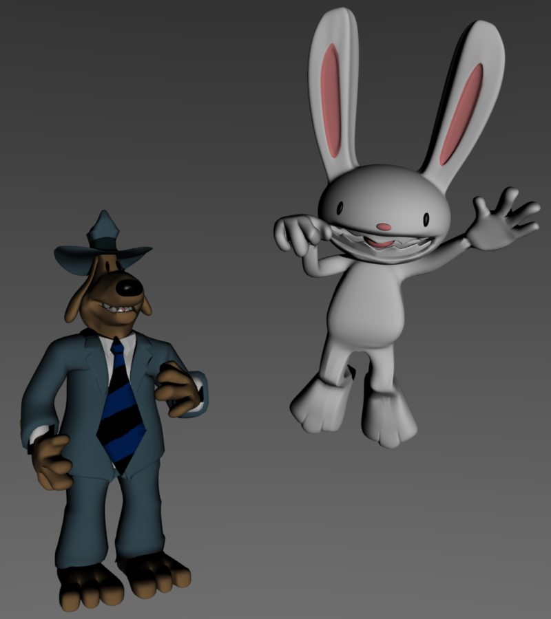 Sam and Max by SiverCat