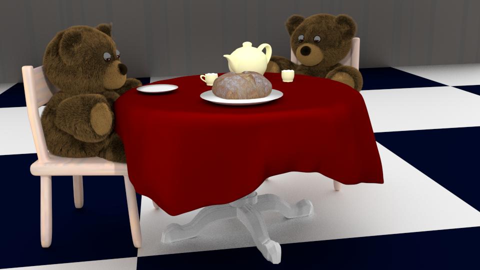 Teddy Teaparty by SiverCat