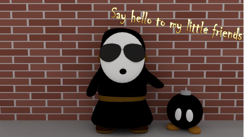 Mafia Shy Guy by SiverCat