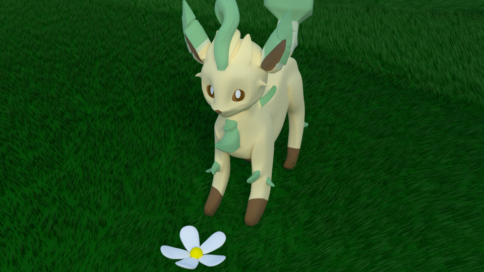 Leafeon by SiverCat