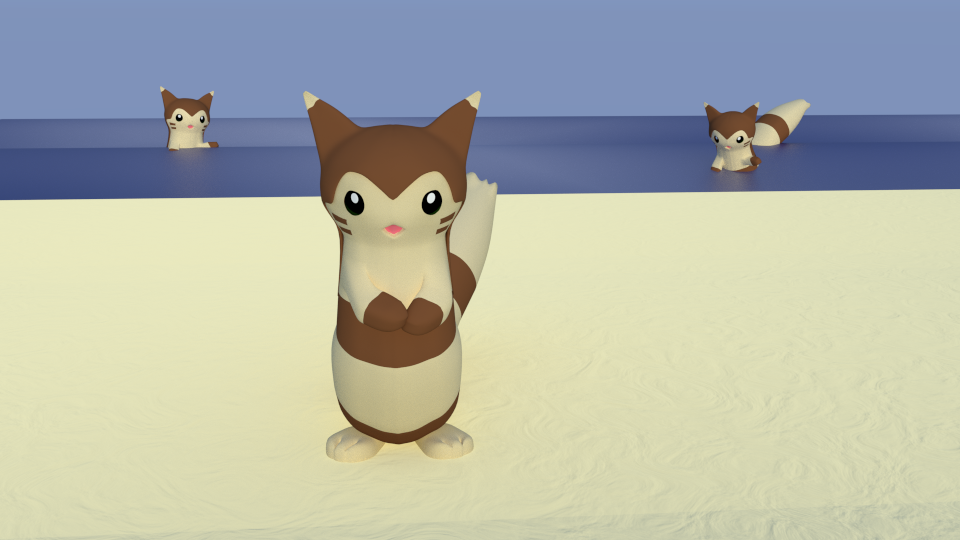 Furret by SiverCat