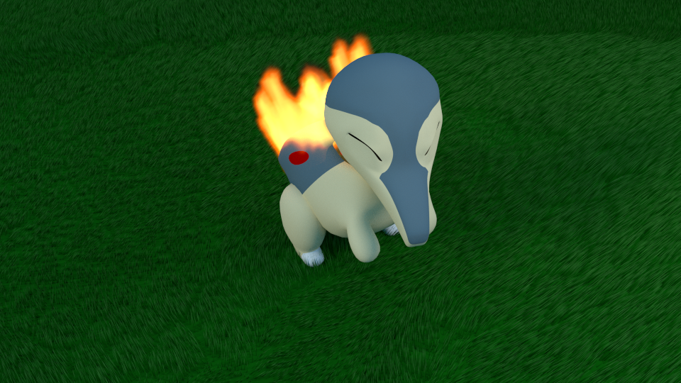 Cyndaquil by SiverCat
