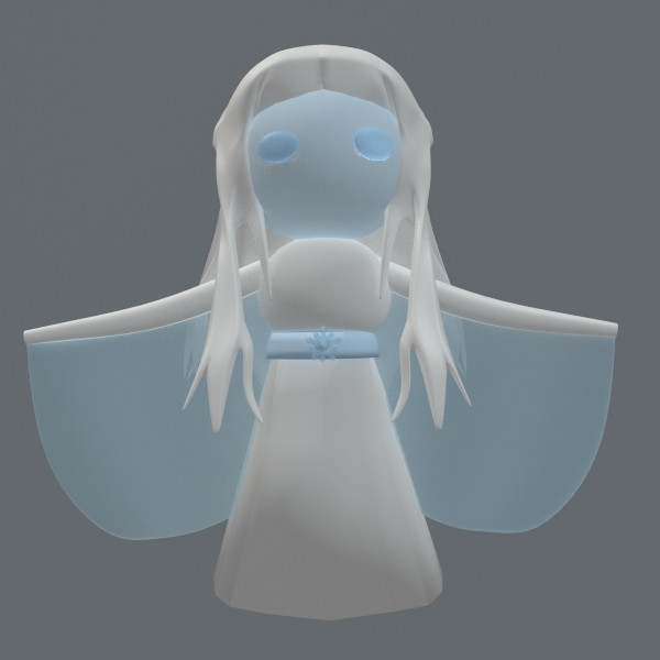 Snow Angel by SiverCat