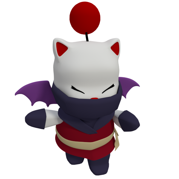 Moogle Ninja by SiverCat