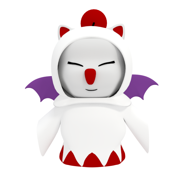 Moogle Whitemage by SiverCat