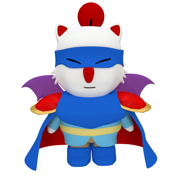 Moogle Bluemage by SiverCat