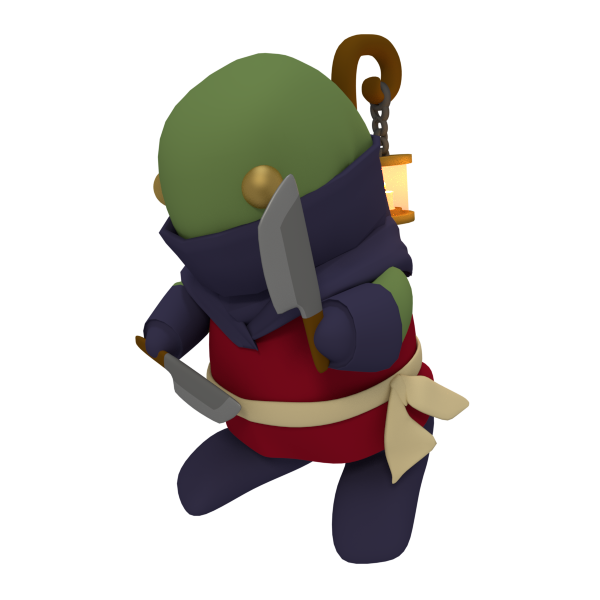 Tonberry Ninja by SiverCat