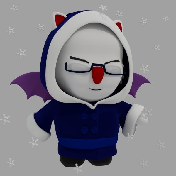 Moogle Winter Avatar by SiverCat