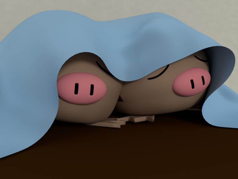 Swinub Cuddle by SiverCat