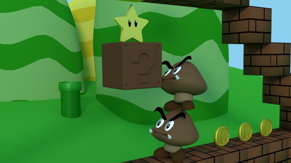 Goomba Adventure Part 2 by SiverCat