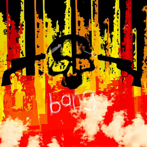 Gunmans Skull by X-Mira-Gurll-X