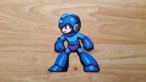 Megaman (mini hama beads) by ericgant