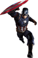 Captain America: Civil War - Cap 01 PNG by ImAngelPeabody