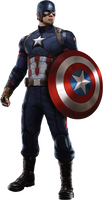 Captain America: Civil War - Cap 02 PNG by ImAngelPeabody