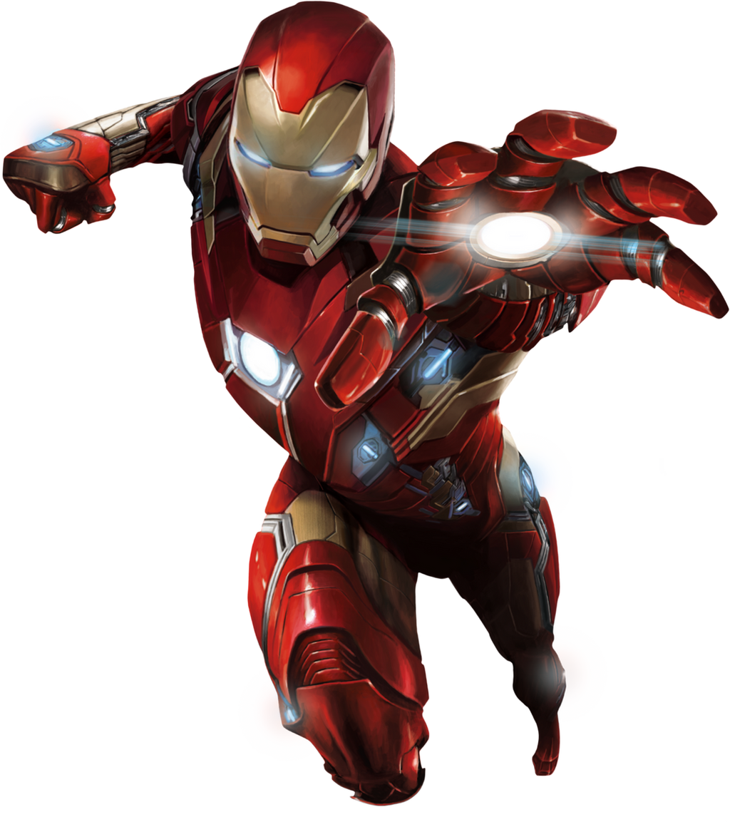Captain America: Civil War - Iron Man 01 PNG by