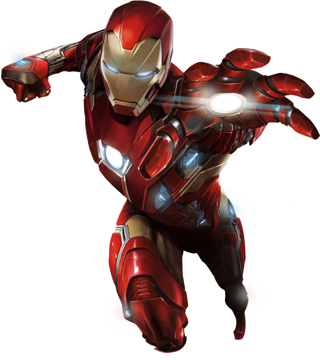 Captain America: Civil War - Iron Man 01 PNG by ...