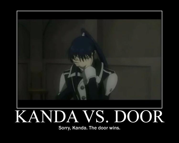 Kanda VS. Door by grachiel on DeviantArt  Kanda VS. Door ...
