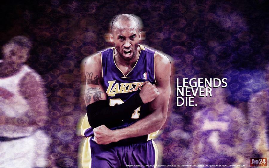 Kobe Bryant Legends Never Die By Pllay1 On Deviantart