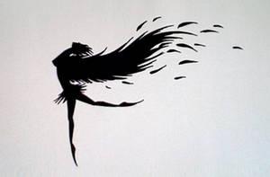 The Black Swan's Dance by horror-lover