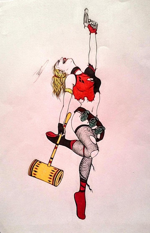 Harley Quinn by horror-lover