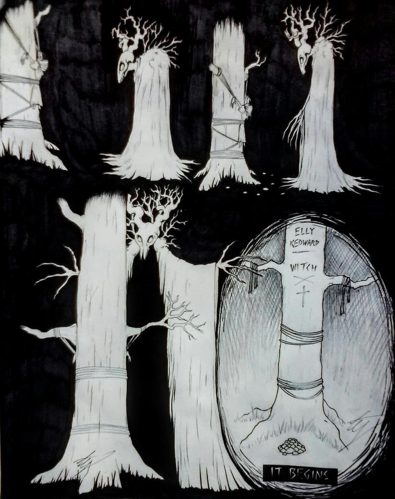 The Death Of Elly Kedward pg 2 by horror-lover