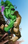 Hulk Vs Thing Colors