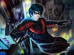 Fallen Nightwing-Alternate version