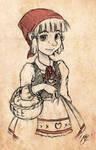 Little Red Hood - Disney Style