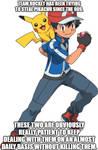 Ash and Pikachu meme