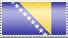 Bosnia and Herzegovina-stamp by lil-dina