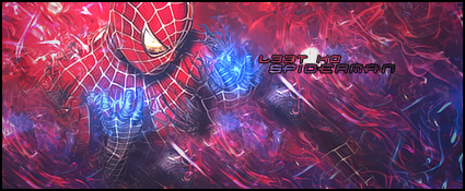 Spiderman sig. by GFXPeter