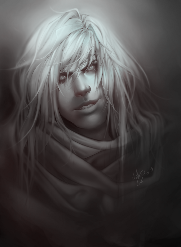 Portrait Practice - Risen by NesoKaiyoH