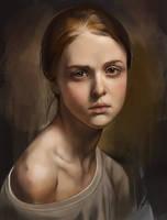 023 365 - Portrait Study 2 by NesoKaiyoH